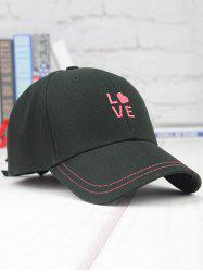 Back Bowknot Tail Letters Embroidery Baseball Cap