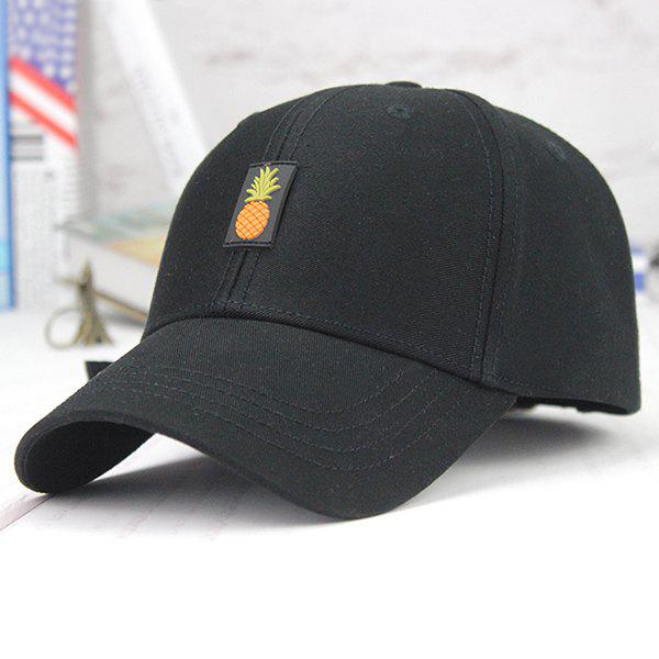 2019 Printed Long Tail Pineapple Embroidery Baseball Cap  783007822700