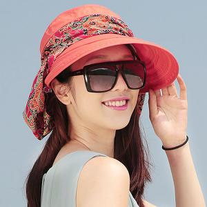 UV Protection Folding Paisley Print Bucket Sun Hat -