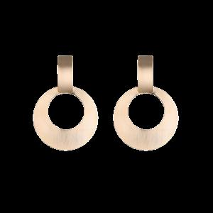 Alloy Vintage Circle Drop Earrings
