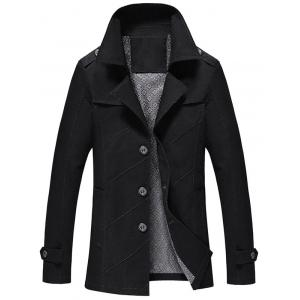 Slim Fit Lapel Collar Jacket