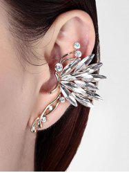 1PC Rhinestone Butterfly Ear Cuff