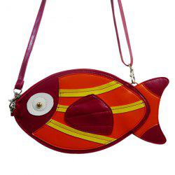 Fish Shaped Funny Crossbody Bag