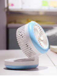 Palmtop Air Conditioner USB Mini ventilateur Humidificateur - Azur