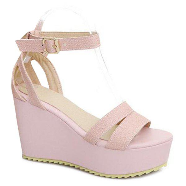 Best Faux Leather Ankle Strap Sandals