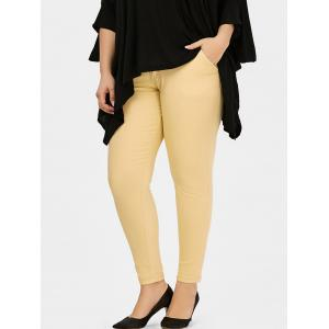 Plus Size Ankle Length Pants
