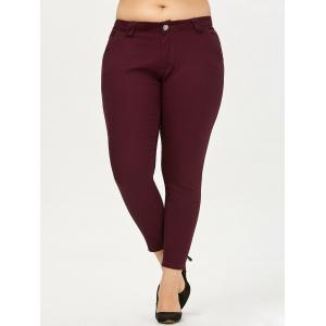 Plus Size Colored Skinny Pants