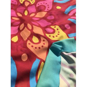 Ethnic Waterdrop Ombre Round Beach Cover Throw - AZURE ONE SIZE