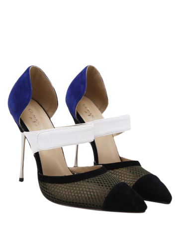 Sale Pointed Toe Mesh Pumps
