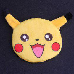 Cartoon Shaped Funny Character Coin Purse - YELLOW