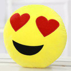 Cartoon Smiling Face Pattern Pillow Case