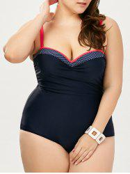Plus Size Halter One Piece Swimwear