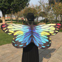 Butterfly Shape Wing Cape Strap Scarf