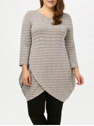 Plus Size Long Sleeve Tunic Top