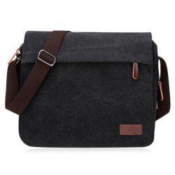 Casual Flap Canvas Messenger Bag