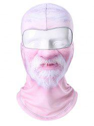 Novel Individualized Face Print Mask Hat