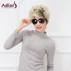 Adiors Hair Fluffy Short Curl Hair Style Synthetic Fiber Wig
