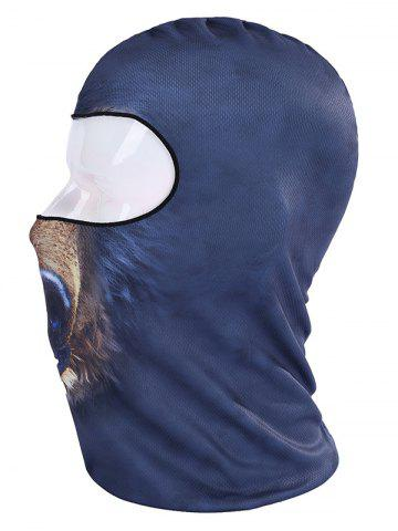 Shops Multifunction Animal Printed Bicycle Head Mask Cap - DEEP BLUE  Mobile