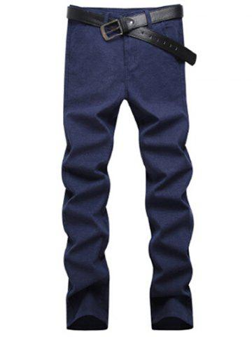 Outfit Pocket Straight Jeans