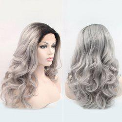 Long Wave Haircut Lace Front Synthetic Wig