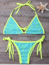 Halter Wireless String Bikini
