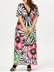 Plus Size Maxi Bohemian Dress