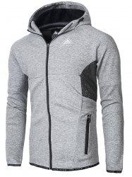 Zip Up Workout Hoodie