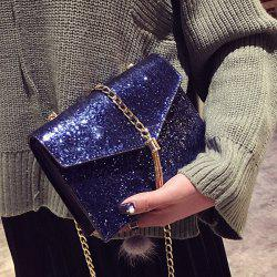 Tassel Chains Sequin Crossbody Bag