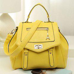 Convertible Faux Leather Backpack