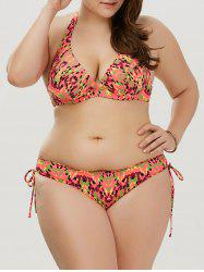 Underwire Camo Cute Plus Size Bathing Suit