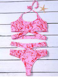 Cut Out Tie Dye Bikini