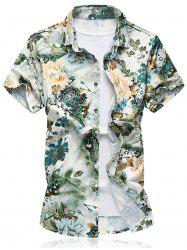 Flower Short Sleeve Shirt