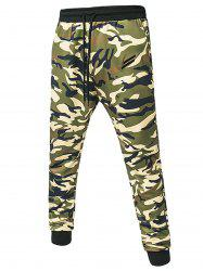 Camouflage Print Jogger Pants