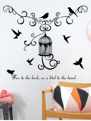 Bird Animal Home Decor Removable Wall Art Stickers