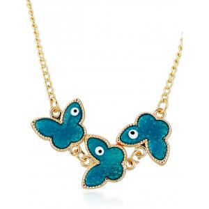 Retro Butterfly Pendant Necklace
