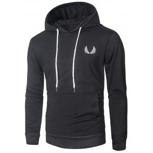Casual Drawstring Pullover Hoodie