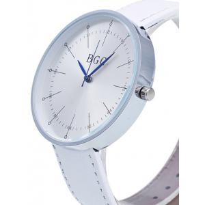 Formal Faux Leather Analog Watch -