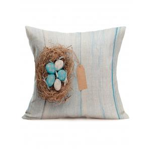 Hand Printed Easter Eggs Printing Pillowcase
