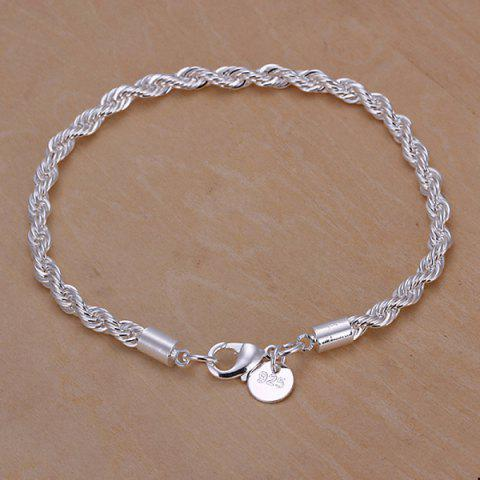 Store Chic Nude Link Bracelet SILVER