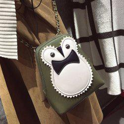 Funny Owl Chains Cross Body Bag