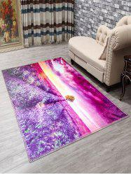 Lavender Anti-Slip Doormat Carpet