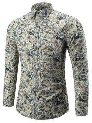 Tiny Floral Long Sleeve Shirt