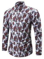 Paisley Long Sleeve Shirt