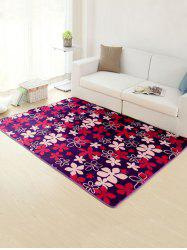 Flower Antislip Absorbent Floor Rug