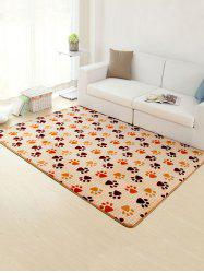 Footprint Bathroom Antislip Soft Rug