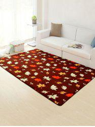 Maple Leaf Skidproof Living Room Rug
