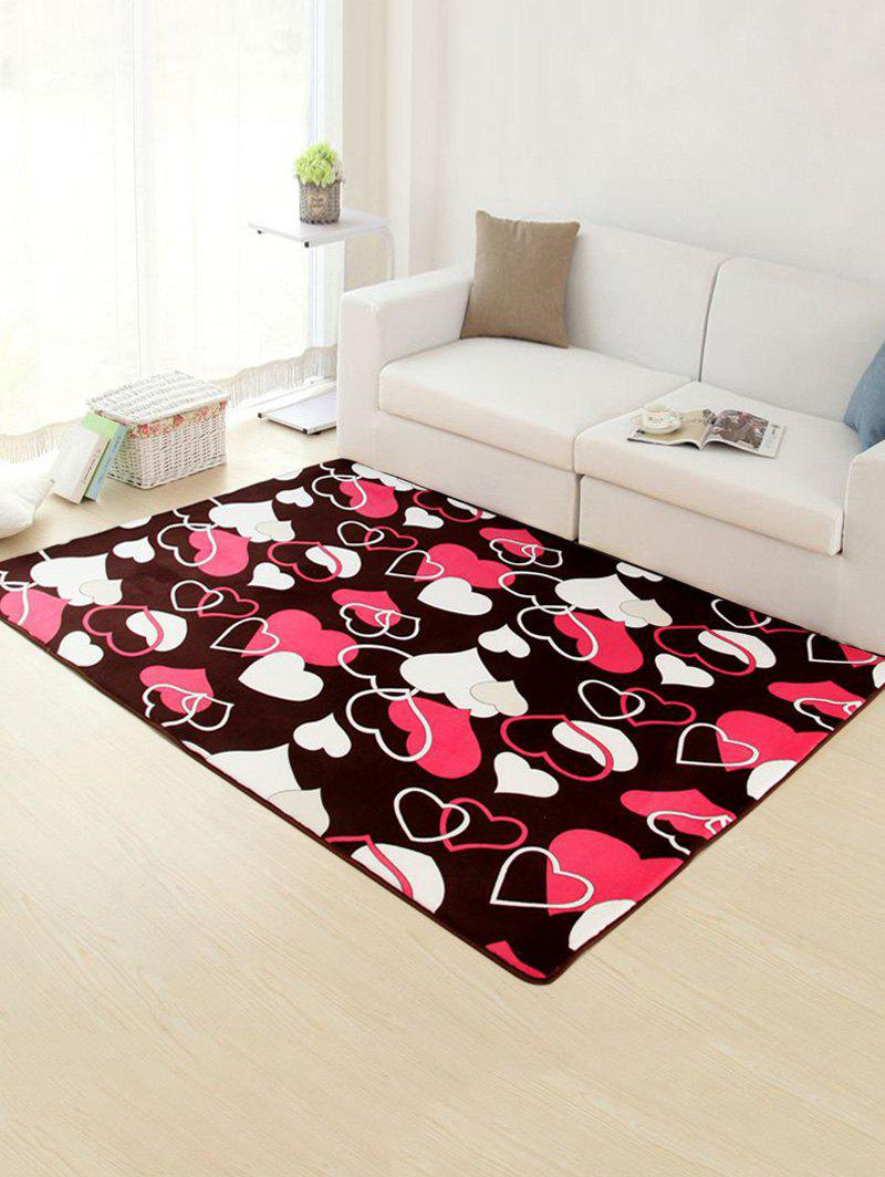 Buy Home Decor Heart Pattern Skidproof Rug