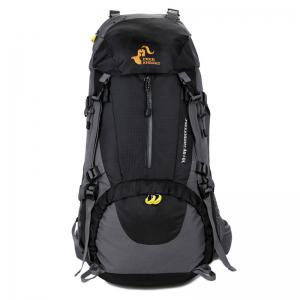 FreeKnight Nylon 50L Mountaineering Backpack with Rain Cover -