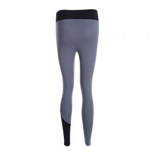 Chic Color Spliced High Waist Bodycon Sport Pants For Women -