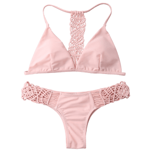 Cami Strappy Knitting Bikini Set -